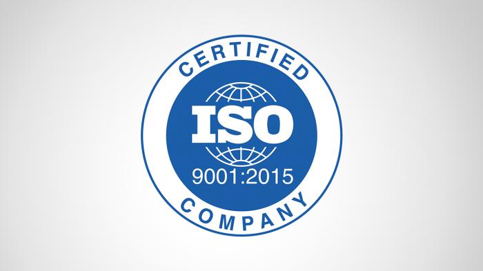 chứng nhận ISO 9001