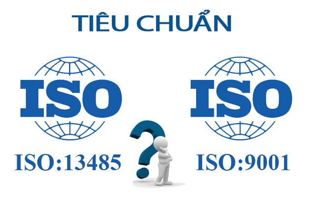 iso 13485 và iso 9001
