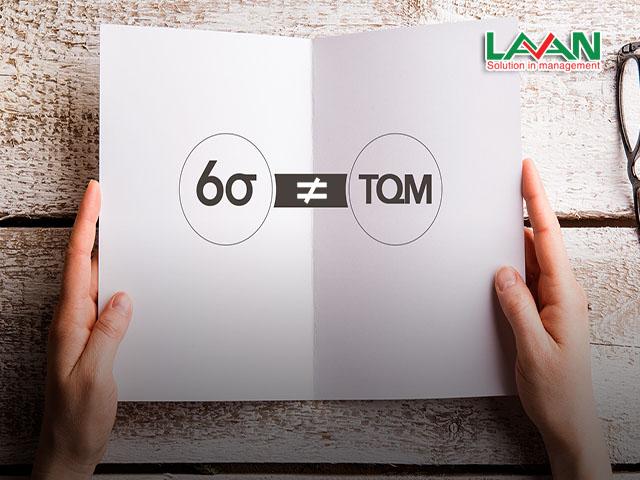 điểm khác biệt giữa tqm và six sigma